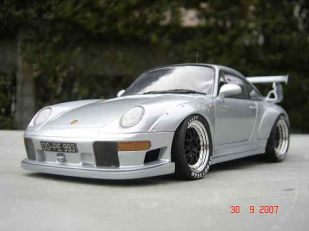 Porsche 993 GT2 1/18 Ut Models evo street grey polaire diecast model cars