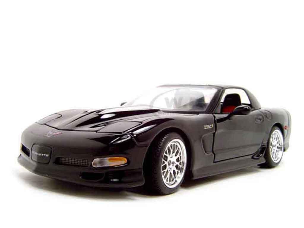 Chevrolet Corvette C5 Z06 1/18 Maisto specter werkes black diecast