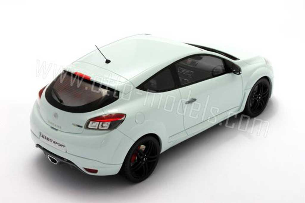 Renault Megane Sport 1/18 Ottomobile rs 2010 blanche miniature
