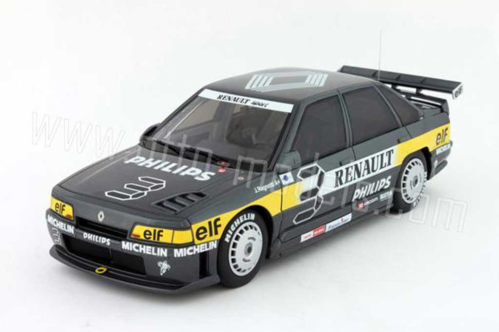 Renault 21 Turbo 1/18 Ottomobile superproduction 1988 numero 3 philips miniature