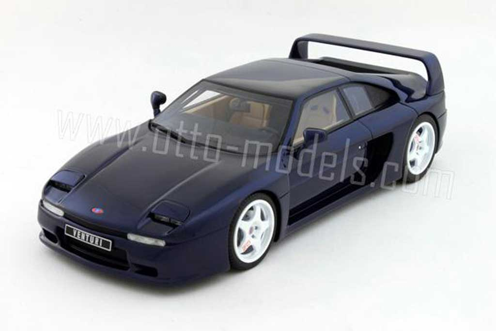 Venturi 400 GT 1/18 Ottomobile bleue 1995 miniature