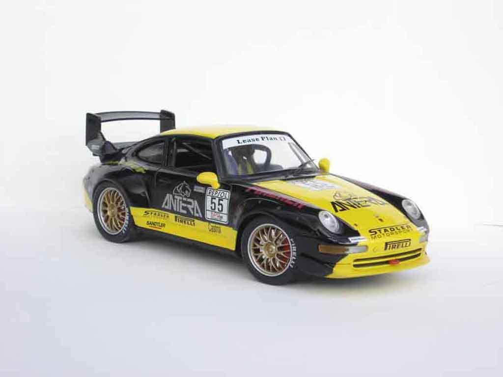 Porsche 993 GT2 1/18 Anson bpr 96 #55 miniature