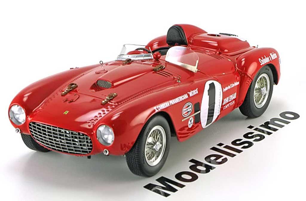 Ferrari 375 1/18 BBR Models plus no.1 panamericana diecast model cars