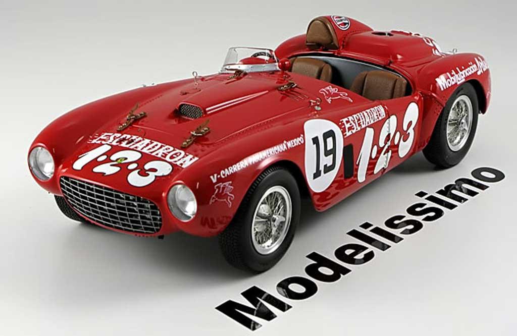 Ferrari 375 1/18 BBR Models plus no.19 panamericana diecast