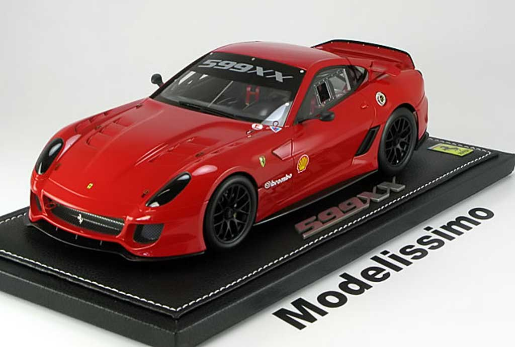 Ferrari 599 XX 1/18 BBR Models nerburgring record 2010 diecast model cars