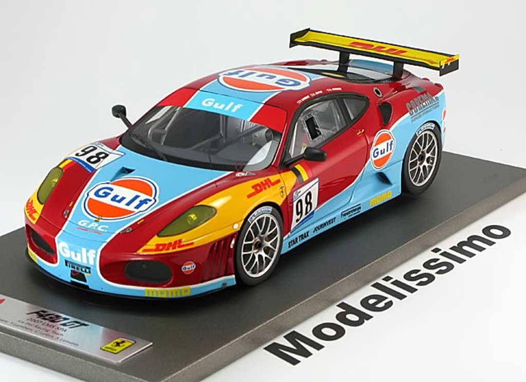 Ferrari F430 GT 1/18 BBR Models no.98 spa lambert lefort lemeret 2007 miniature