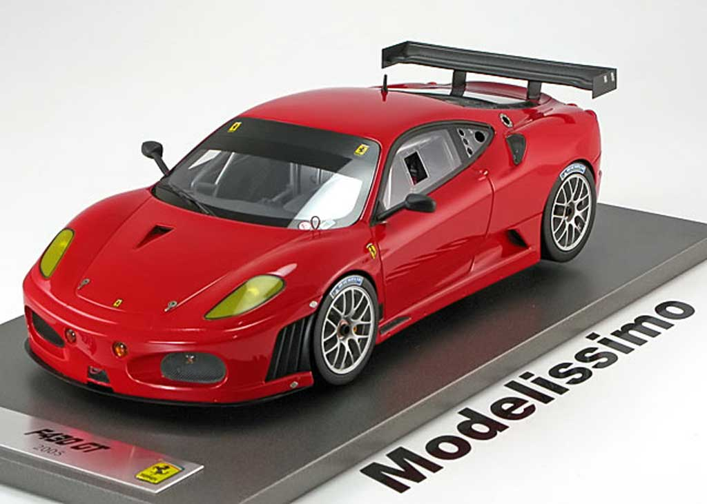 Ferrari F430 GT 1/18 BBR Models press version 2005 red diecast