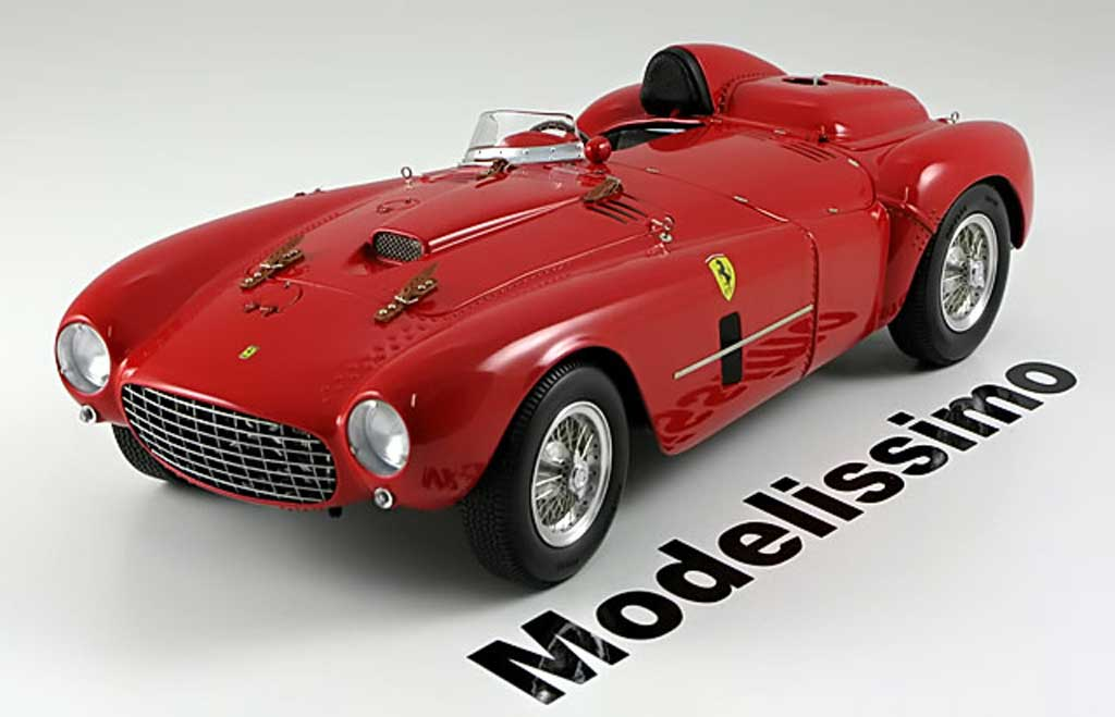 Ferrari 375 1/18 BBR Models plus street 1954 red diecast