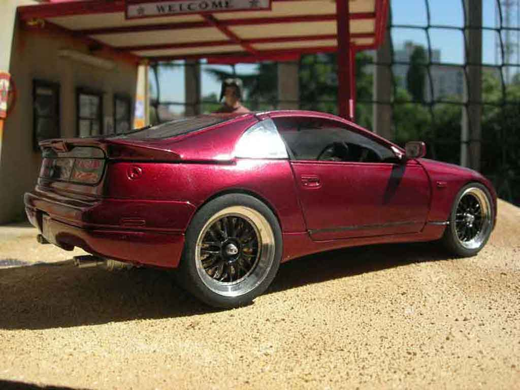 Nissan 300 ZX 1/18 Kyosho ZX red diecast model cars