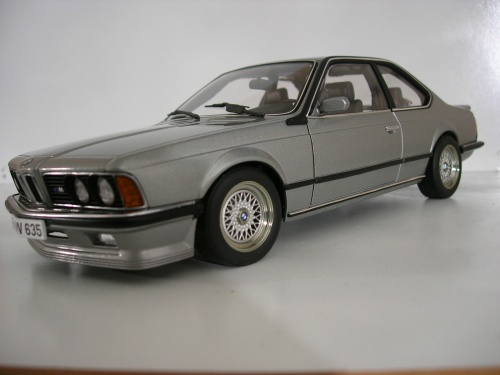 Bmw 635 CSI 1/18 Autoart m shadowline grey diecast model cars