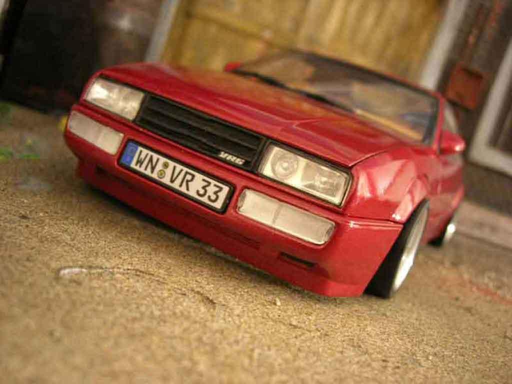 Volkswagen Corrado VR6 1/18 Revell german look miniature