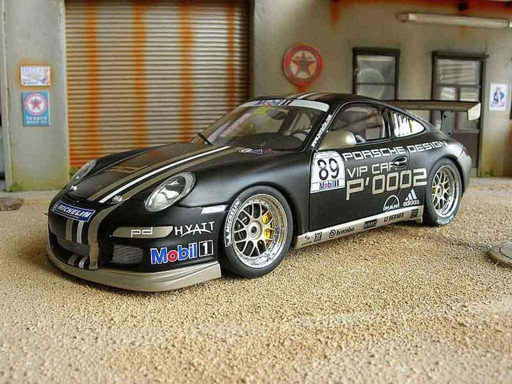 Porsche 997 GT3 Cup 1/18 Autoart cup vip #88 p0001 miniature