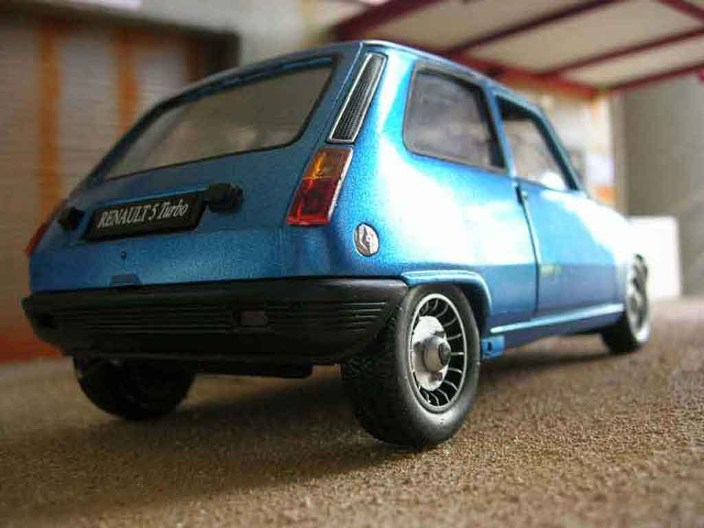 Renault 5 Alpine 1/18 Solido turbo diecast model cars