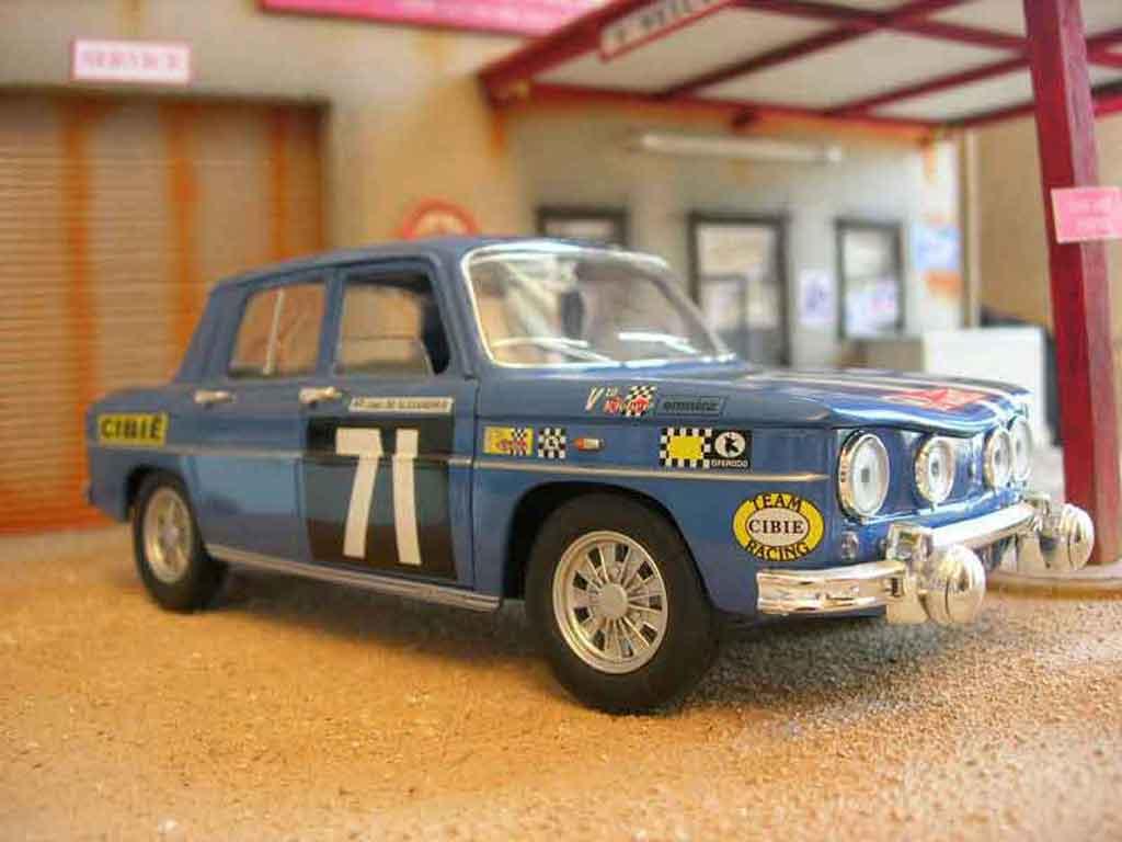 Renault 8 Gordini 1/18 Solido rallye miniature