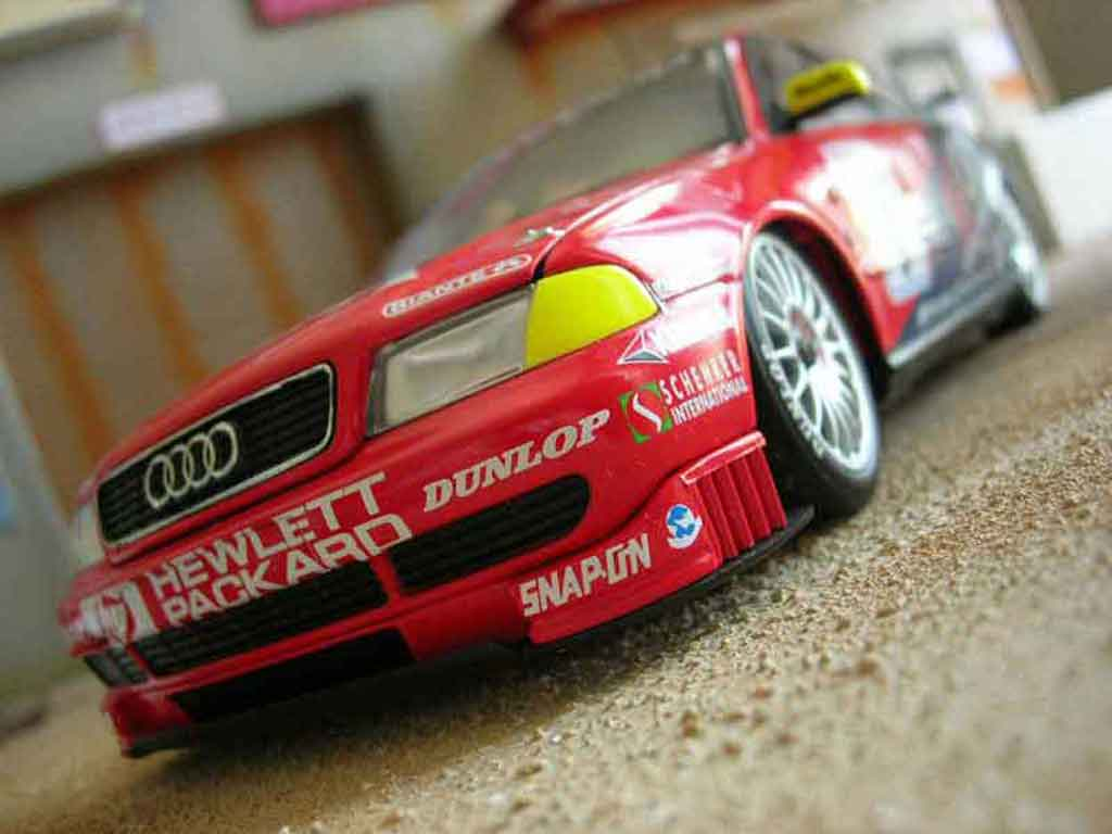Audi A4 DTM 1/18 Ut Models stw 1997 orix jones racing collection miniatura