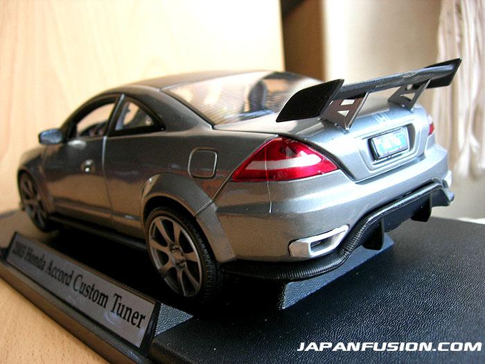 Honda Accord 1/18 Motormax 2003 grey diecast model cars