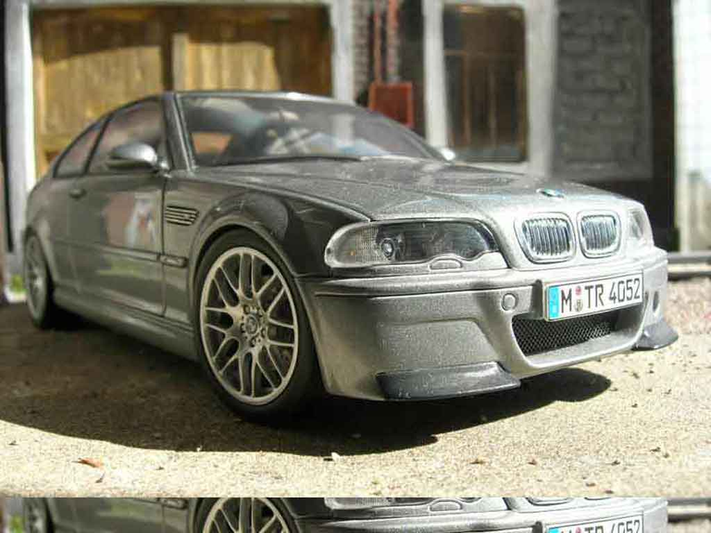 Bmw M3 E46 1/18 Autoart csl diecast model cars