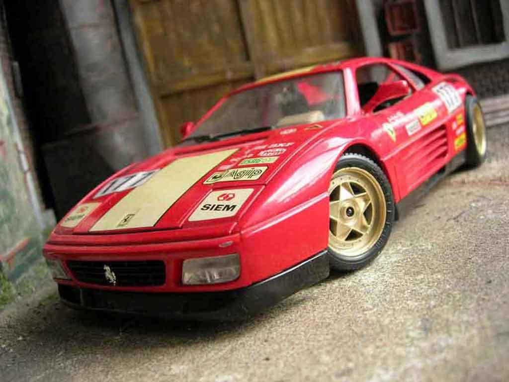 Ferrari 348 TB 1/18 Burago challenge #177 miniature