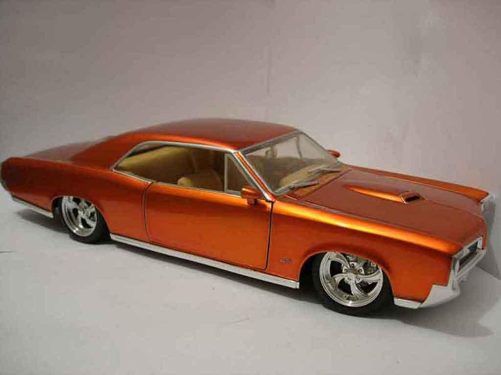 Pontiac GTO 1/18 Jada Toys Toys 1966 diecast model cars