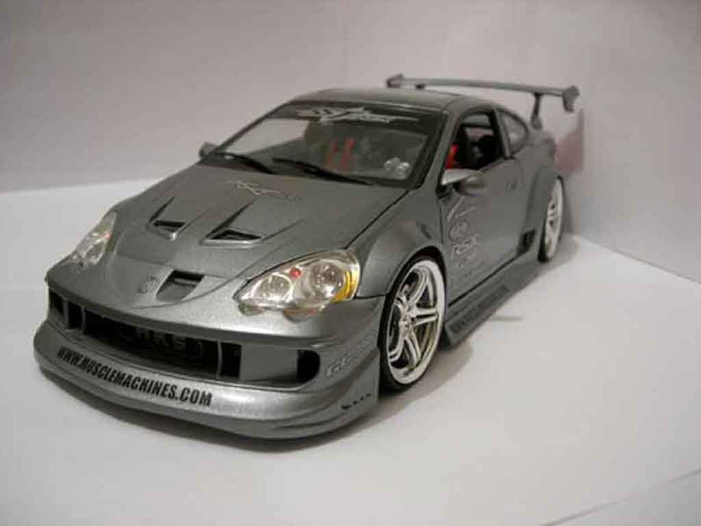 Honda Integra Type R 1/18 Muscle Machines rsx miniatura
