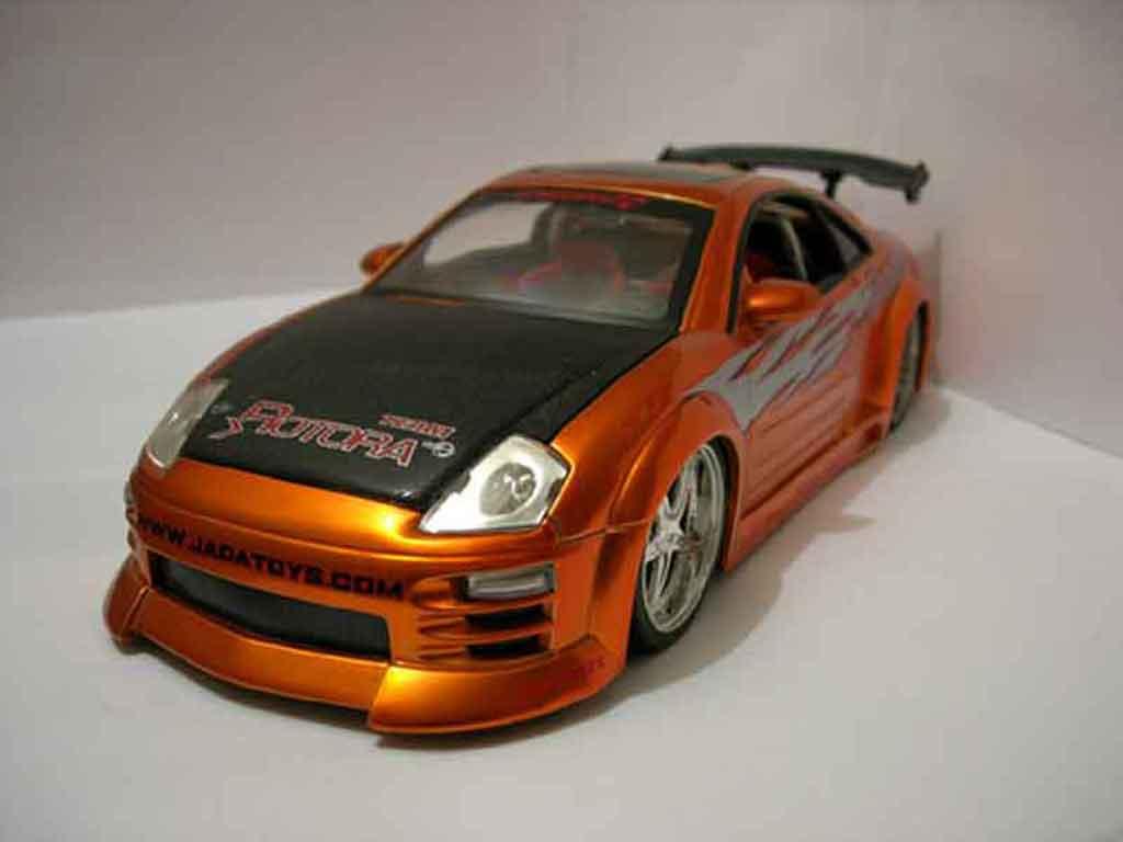 Mitsubishi Eclipse 1/18 Jada Toys  miniature