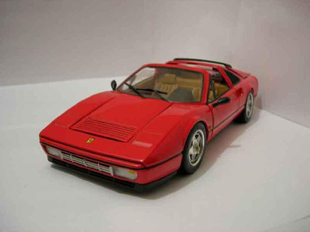 Ferrari 328 GTS 1/18 Anson rosso 1988 modellino in miniatura