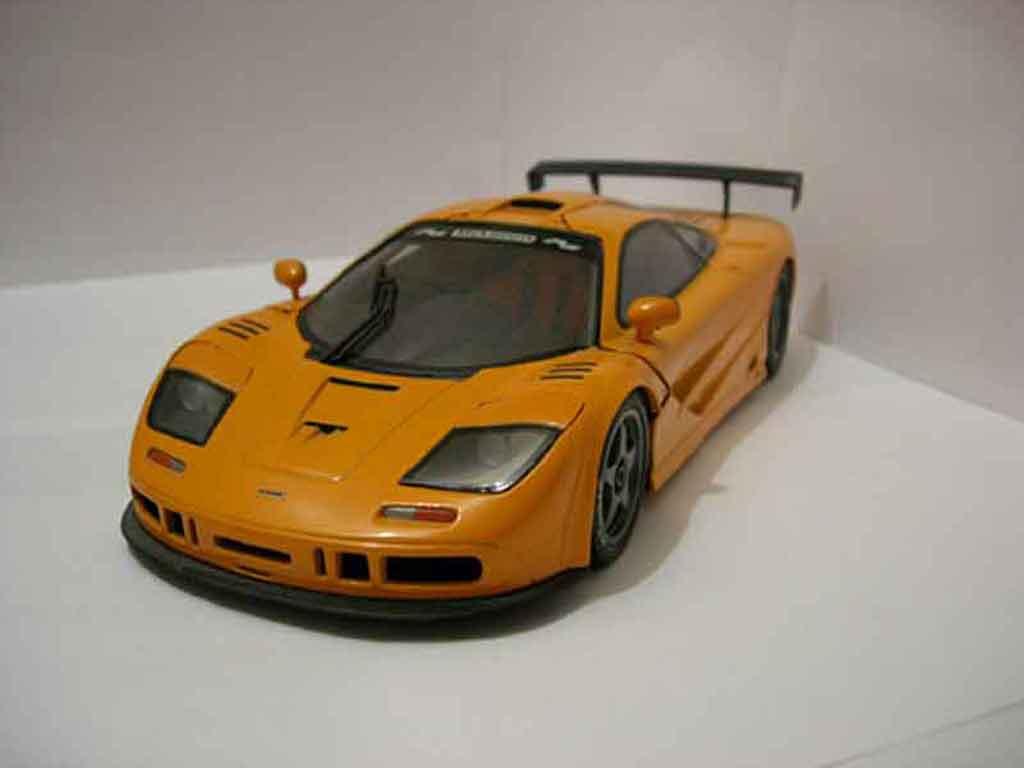 McLaren F1 1/18 Ut Models gtr orange diecast model cars