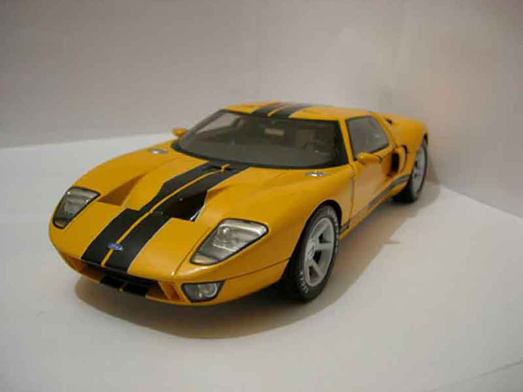 Ford GT 1/18 Beanstalk Group Concept jaune