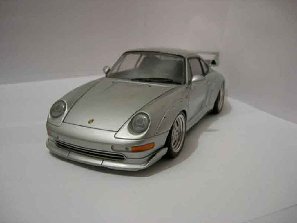 Porsche 993 GT2 1/18 Ut Models grey diecast model cars