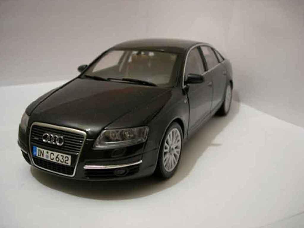 Audi A6 1/18 Norev v6 3.2 miniature