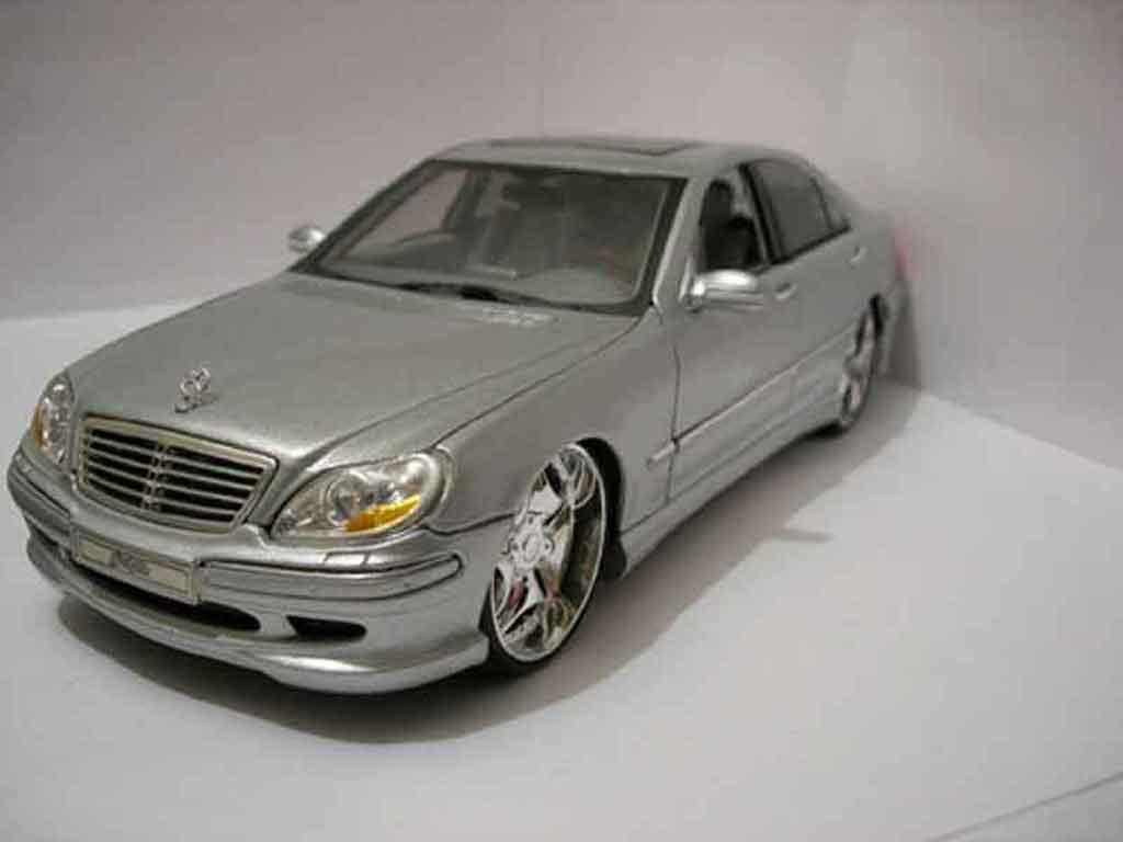 Mercedes Classe S 55 1/18 Playerz amg miniature