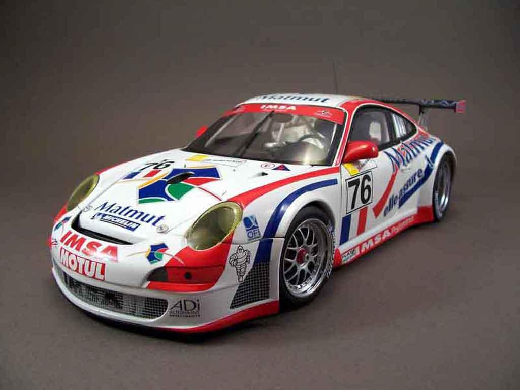 Porsche 997 GT3 RSR 1/18 Autoart 2007 76lm07 diecast model cars