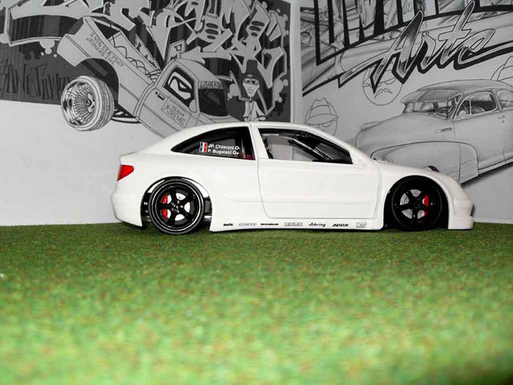 Citroen Xsara tuning 1/18 Solido wrc blanche bianca miniature