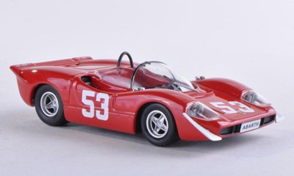 Abarth 2000 1/43 Best Nr.53 Imola 1969 /Van miniature