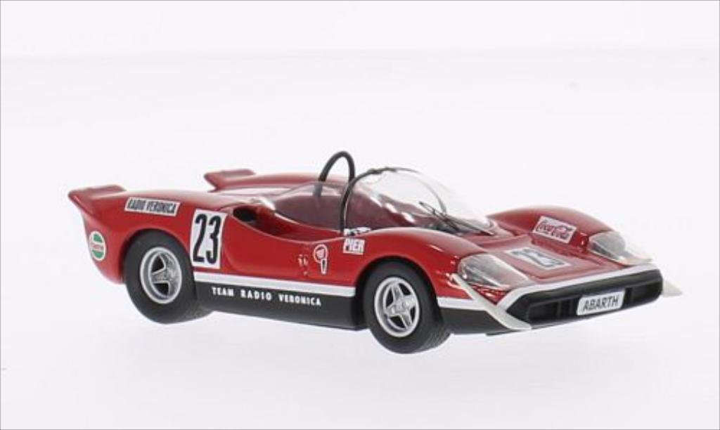 Abarth 2000 1/43 Best S No.23 Team Radio Verona Silverstone 1969 miniature