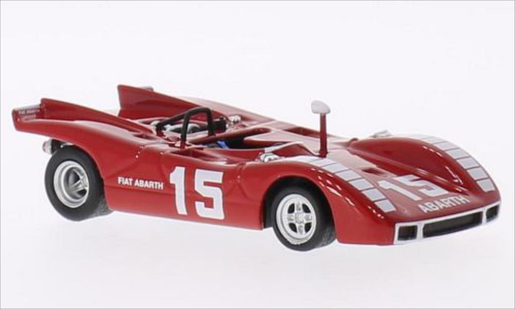Abarth 2000 1/43 Best SP RHD No.15 Nurburgring 1970 miniature