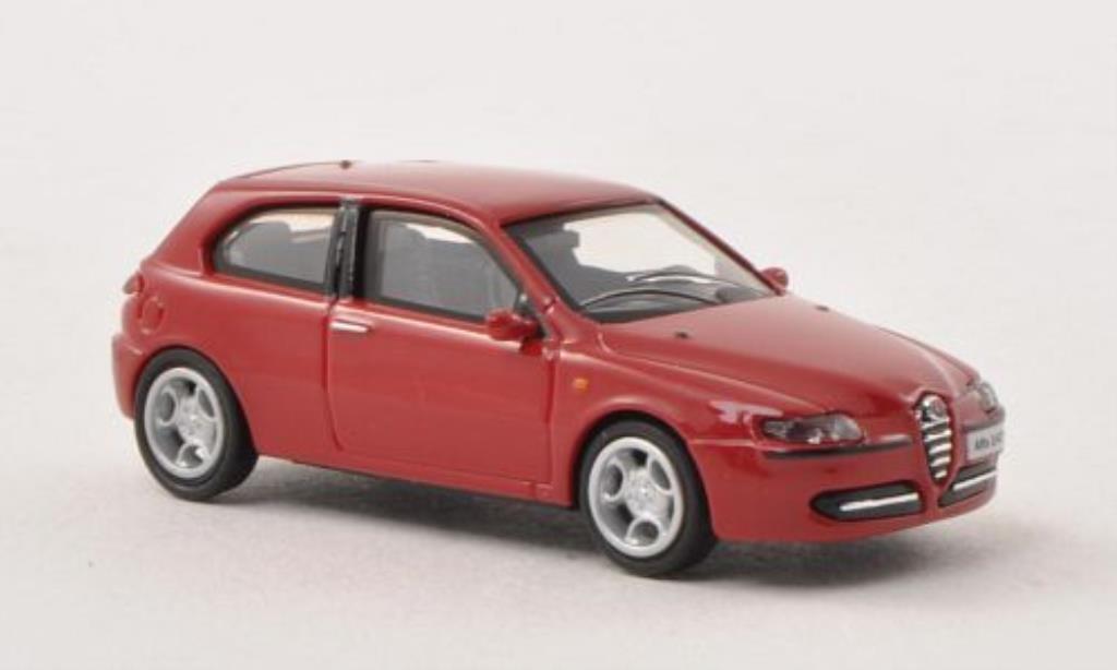 Alfa Romeo 147 1/87 Busch red 3-Turer 2001 diecast