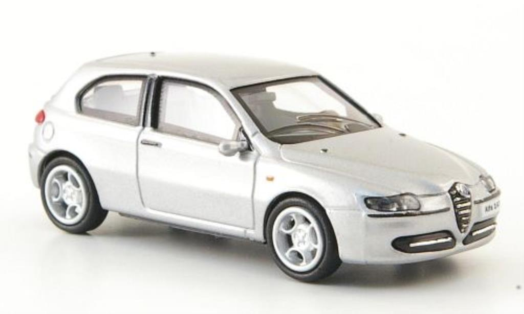 Alfa Romeo 147 1/87 Ricko grey 3-Turer 2001 diecast model cars
