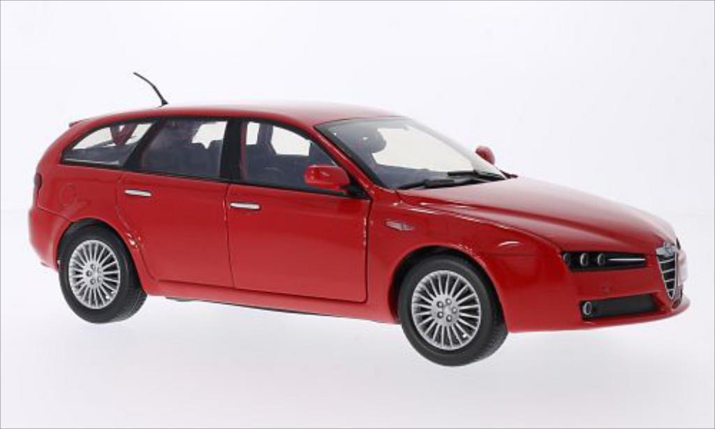 Alfa Romeo 159 1/18 Motormax SW red diecast