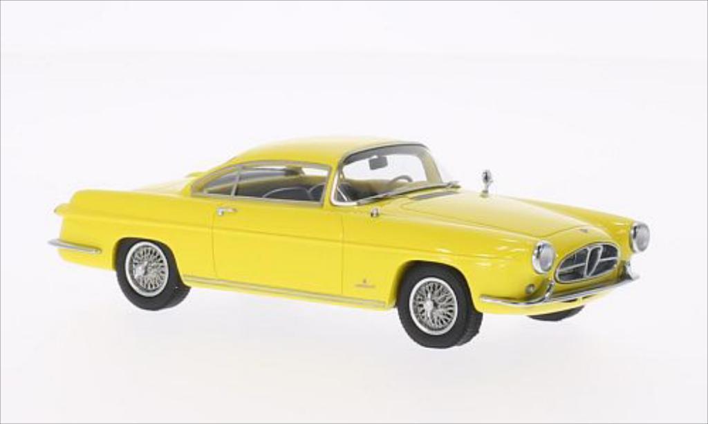 Alfa Romeo 1900 1/43 Kess SS Ghia Coupe jaune 1954 miniature