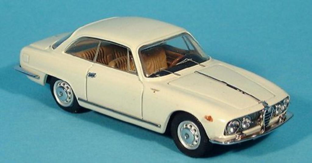 Alfa Romeo 2000 Sprint 1/43 Bang blanche 1960 miniature
