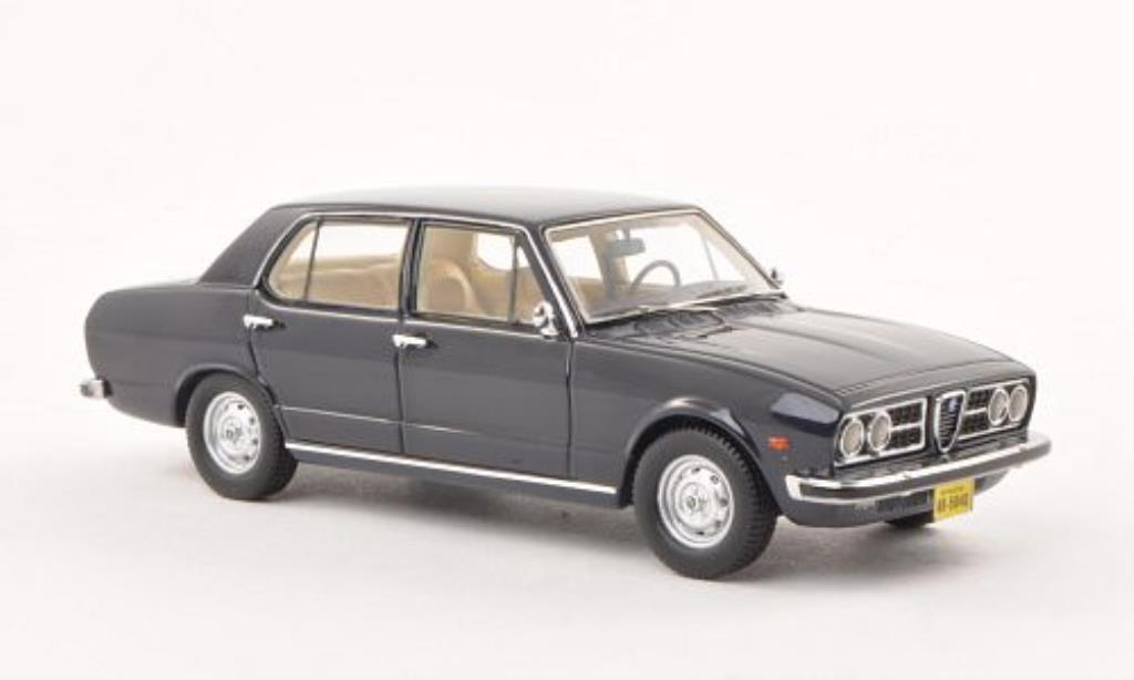 Alfa Romeo 2300 1/43 Neo Rio bleu 1976 miniatura