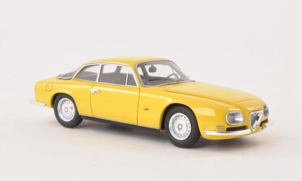 Alfa Romeo 2600 1/43 Neo Sprint Zagato yellow 1967 diecast
