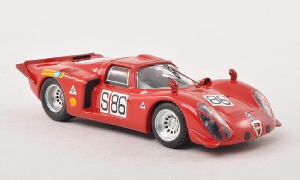 Alfa Romeo 33.2 1/43 Best Coupe No.86 Nurburgring 1969 /De miniature