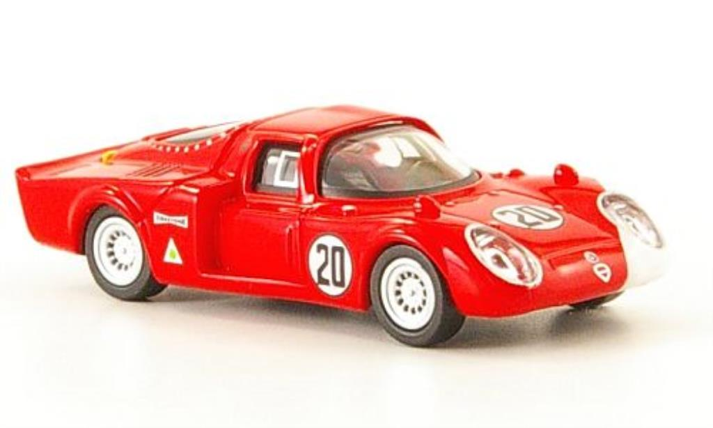 Alfa Romeo 33.2 1/87 Ricko No.20 Daytona 1968 miniatura