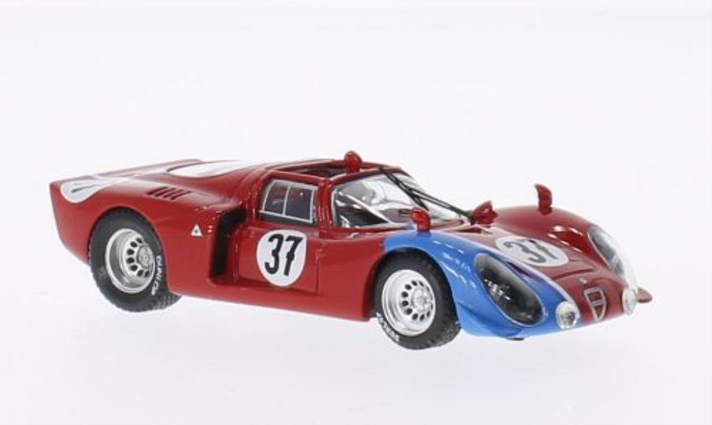 Alfa Romeo 33.2 1/43 Best No.37 Le Mans Test 1968 /Trosch miniature