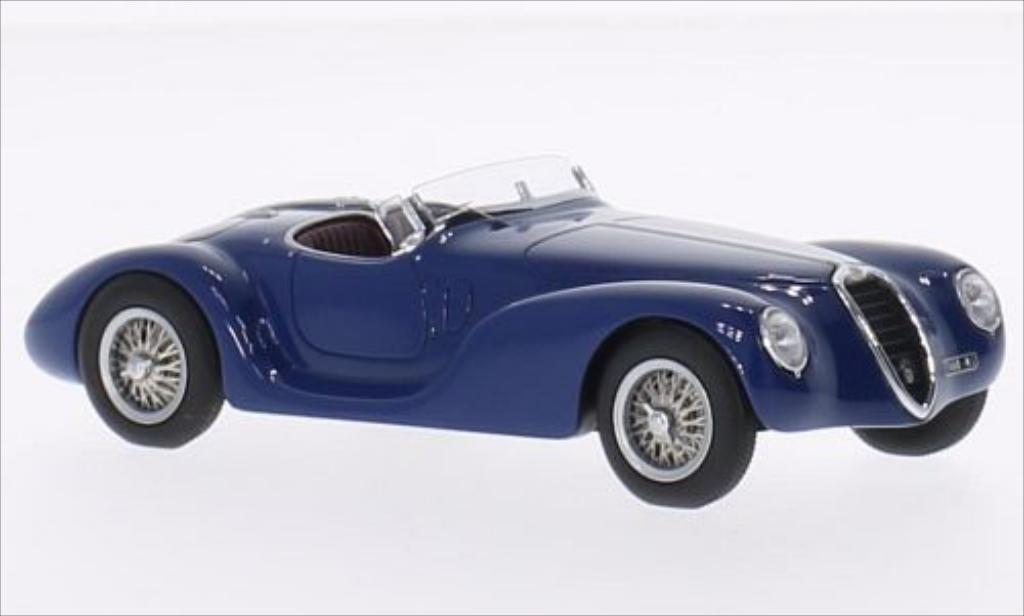Alfa Romeo 6C 2500 1/43 Minichamps SS Corsa Spider bleu RHD 1939 diecast