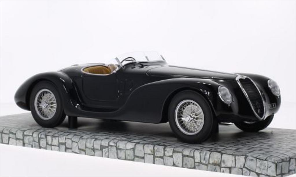 Alfa Romeo 6C 2500 1/18 Minichamps SS Corsa Spider black RHD 1939 diecast