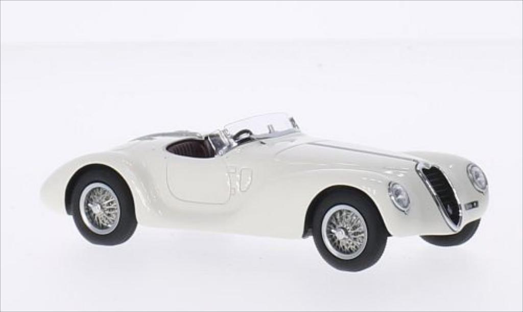 Alfa Romeo 6C 2500 1/43 Minichamps SS Corsa Spider white RHD 1939 diecast
