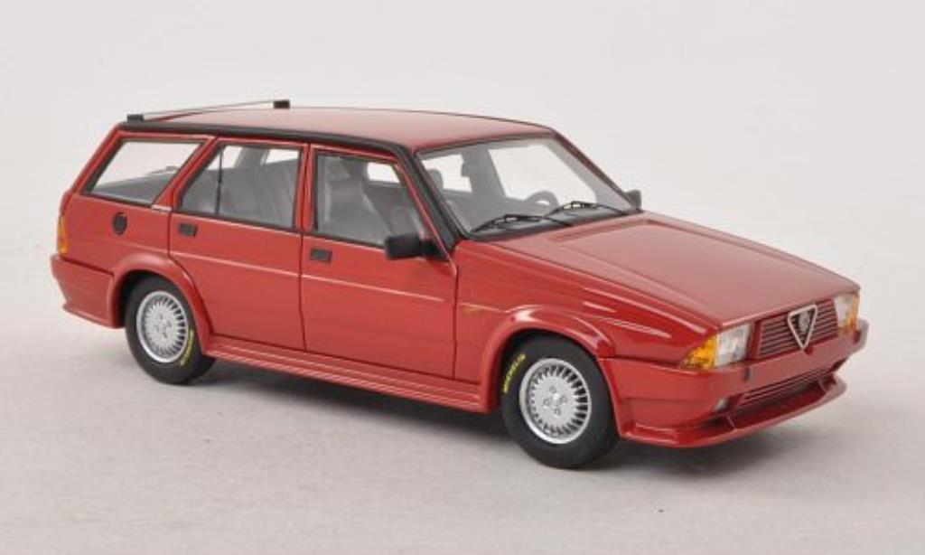 Alfa Romeo 75 1/43 Neo Turbo Wagon Rayton Fissore rouge 1986 miniature